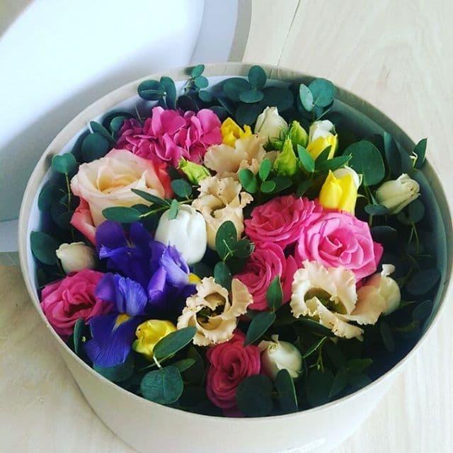 Цветы в московском