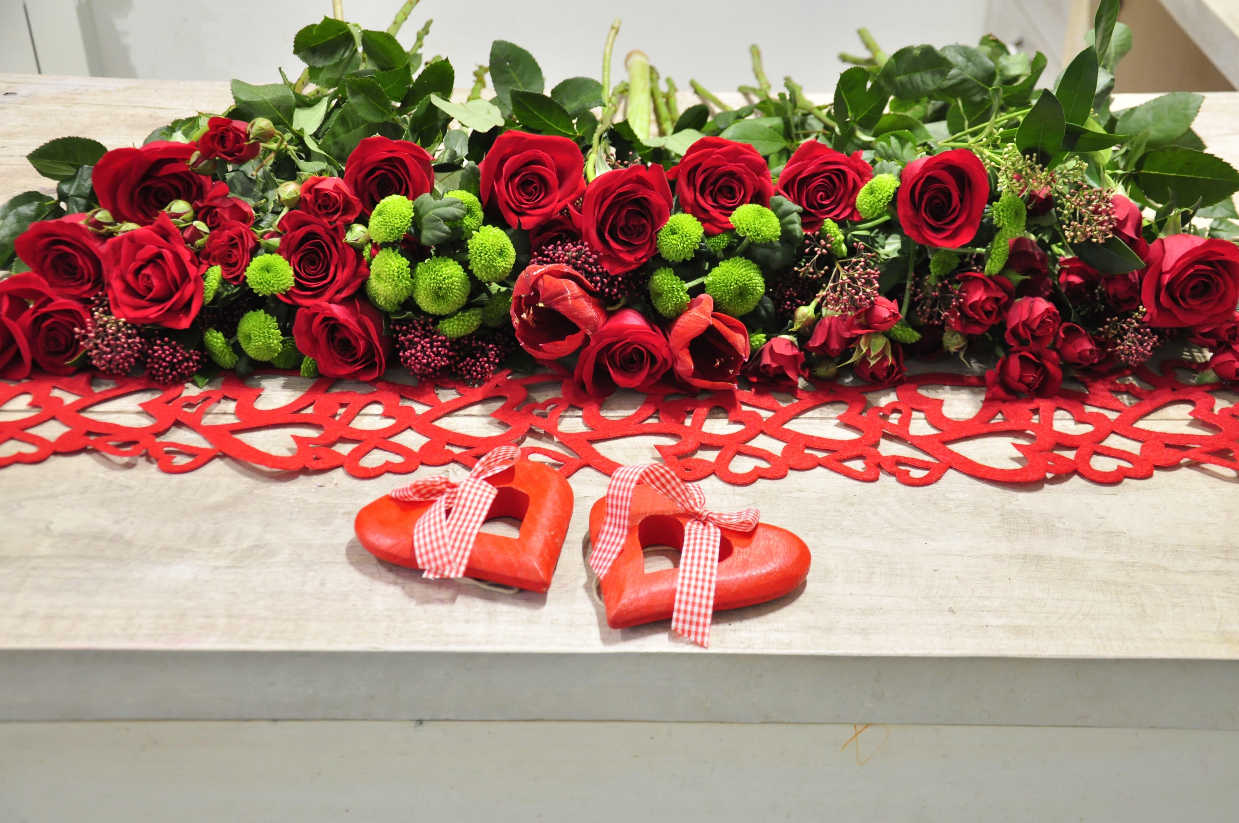 цветы на 14 февраля