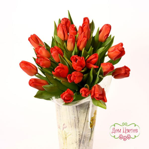 купить букет из тюльпанов в минске
