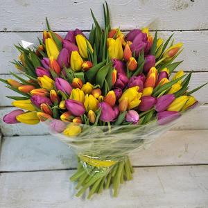 букет из тюльпанов минск