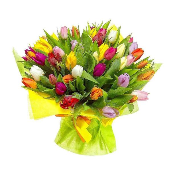 купить букет из тюльпанов минск