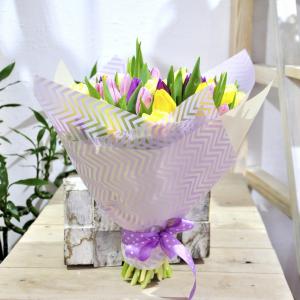заказать букет с тюльпанами минск