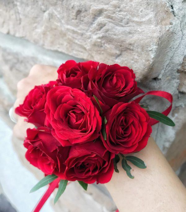 купить браслет из живых цветов в миснке