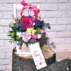 заказать цветы в коробке в минске