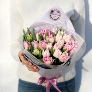 букет тюльпанов минск