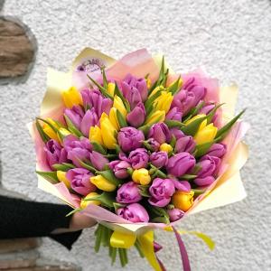 купить букет из тюльпанов