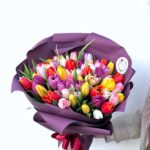 Букет тюльпанов 65шт