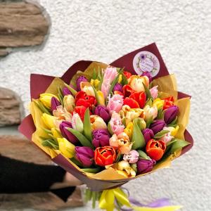 купить букет тюльпанов минск