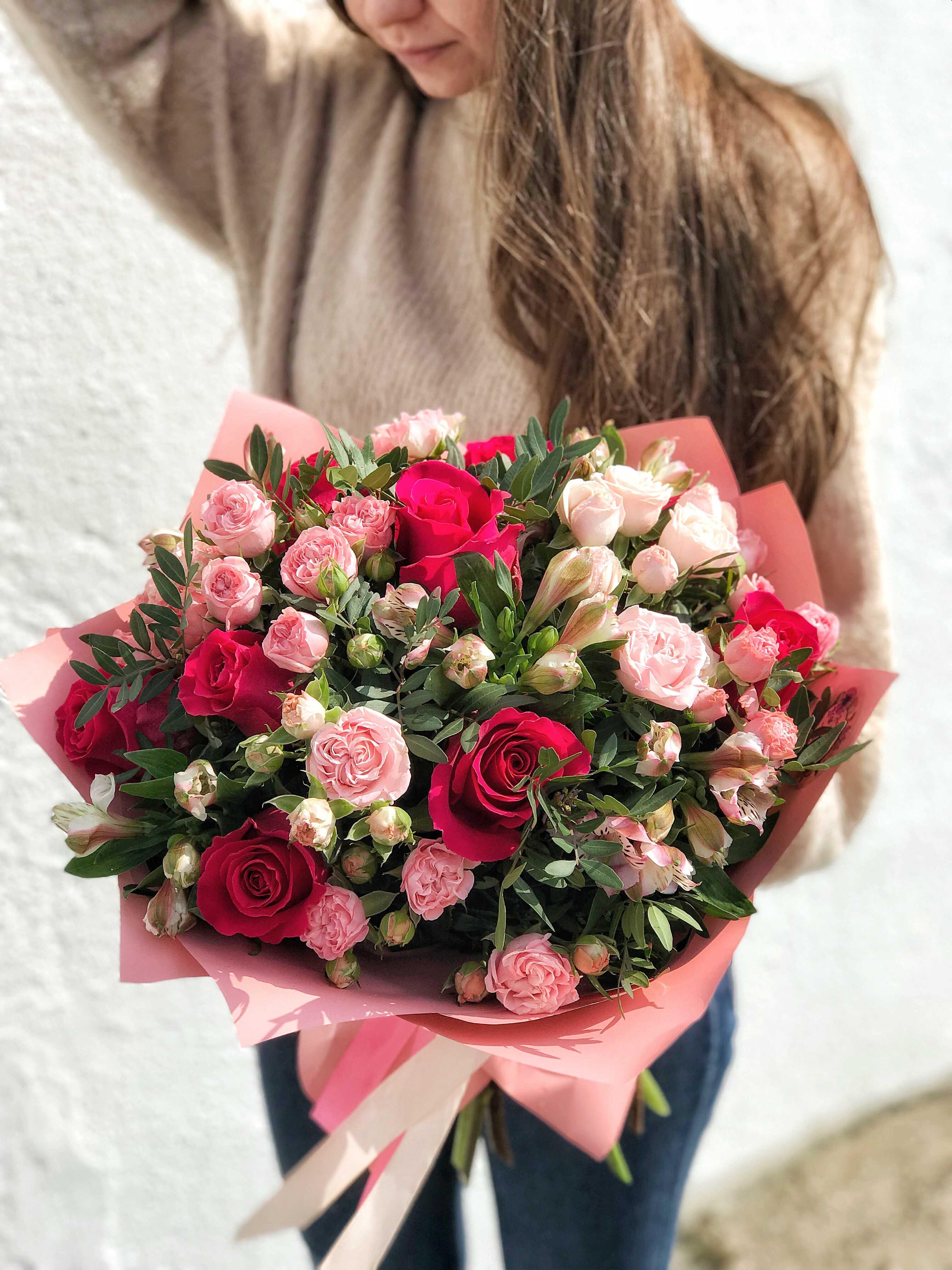 Букет из роз купить с доставкой минск, доставка томск букет