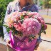 купить цветы в коробке минск