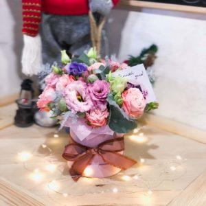 заказать коробку цветов в минске