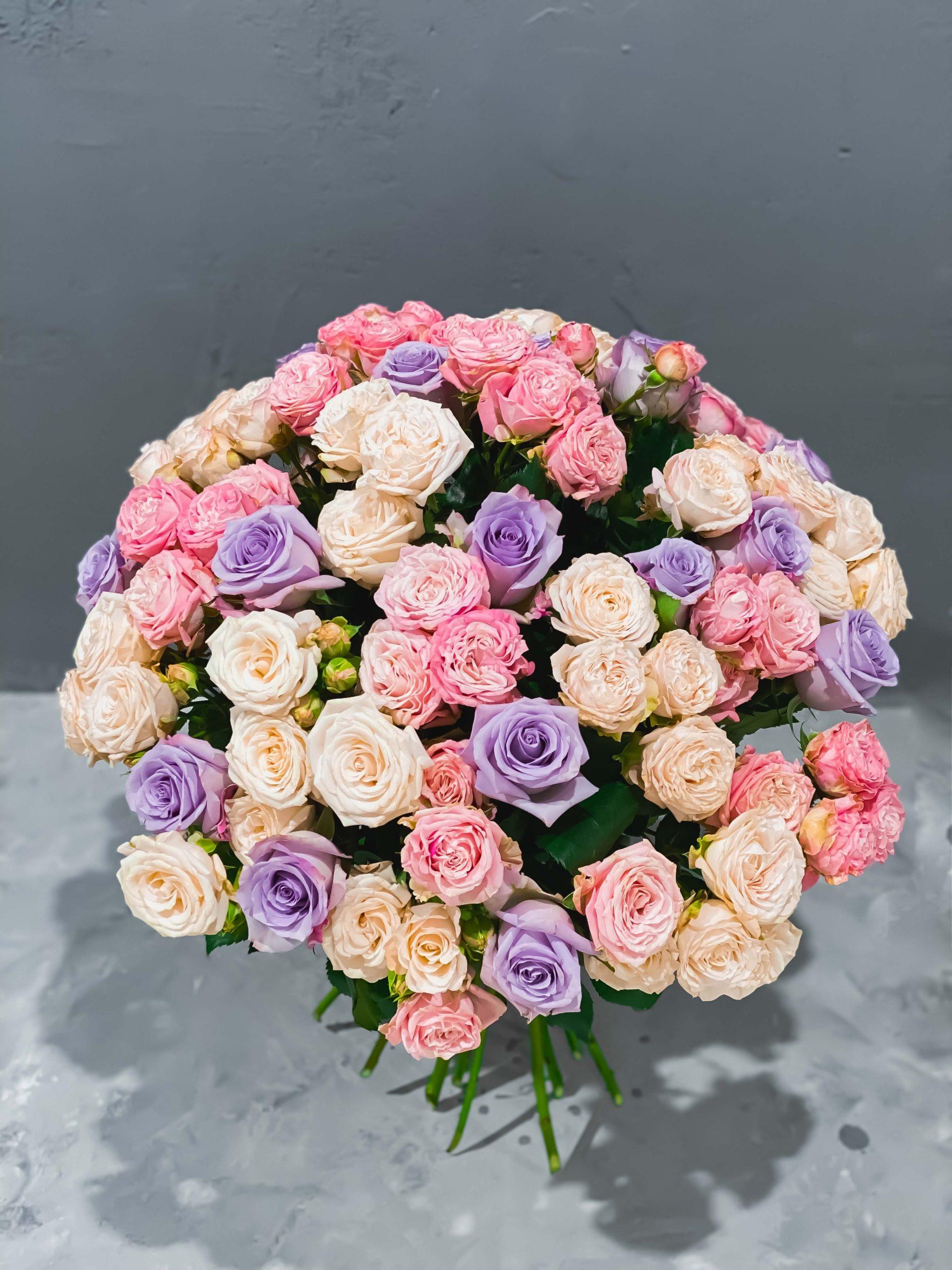 букет роз минск