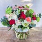 Авторский букет из пионовидных роз