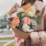 Букет «Цветочный комплимент»
