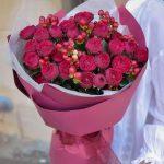 Букет «Пылкая любовь»